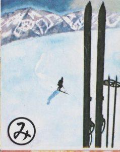 みなかみ、たにがわ、スキーととざん